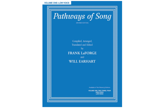 Pathways of Song, Volume 1, Low Voice