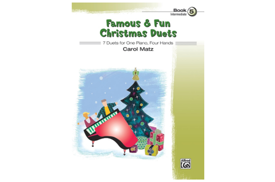 Famous & Fun Christmas Duets, Book 5