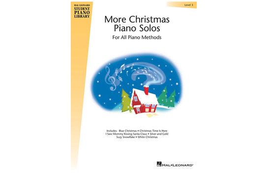 More Christmas Piano Solos – Level 3