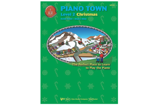 Piano Town Christmas, Level 2