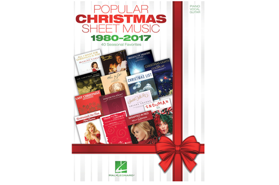 Popular Christmas Sheet Music – 1980-2017