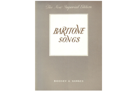 Baritone Songs