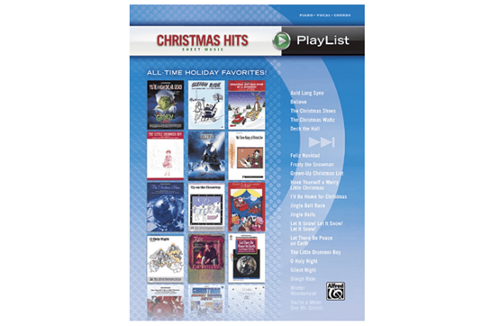 Christmas Hits Sheet Music Playlist