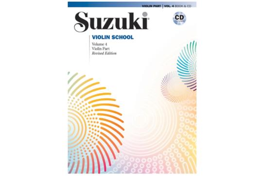 Suzuki Violin School, Violin Part & CD, Volume 4 (Revised)