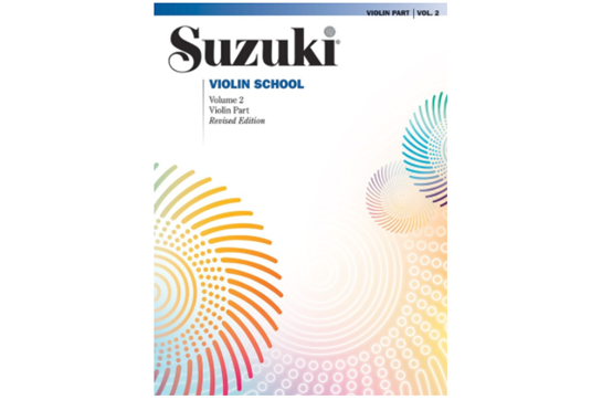 Suzuki Violin School, Volume 2 (Revised) (Book only)