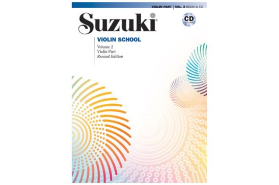 Suzuki Violin School, Violin Part & CD, Volume 2 (Revised)
