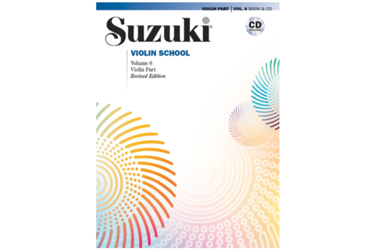 Suzuki Violin School, Violin Part & CD, Volume 6 (Revised)