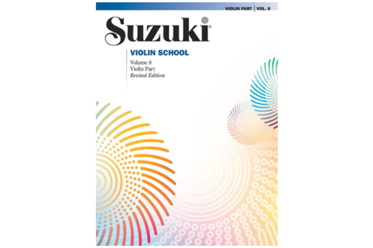 Suzuki Violin School, Volume 8 (Revised)