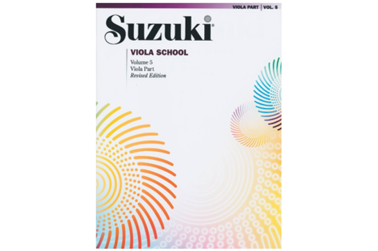 Suzuki Viola School, Volume 5 (Revised)