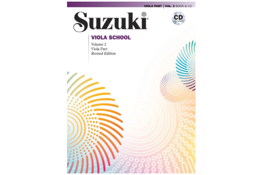 Suzuki Viola School, Viola Part & CD, Volume 2 (Revised)