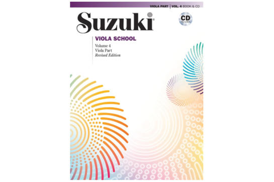 Suzuki Viola School, Viola Part & CD, Volume 4 (Revised)