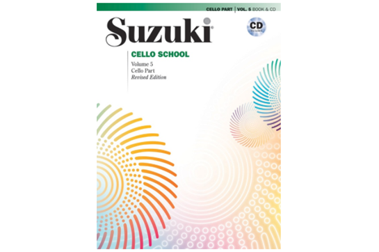 Suzuki Cello School, Cello Part & CD, Volume 5 (Revised)