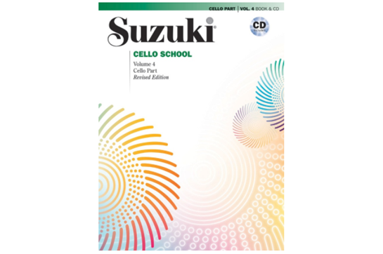 Suzuki Cello School, Cello Part & CD, Volume 4 (Revised)