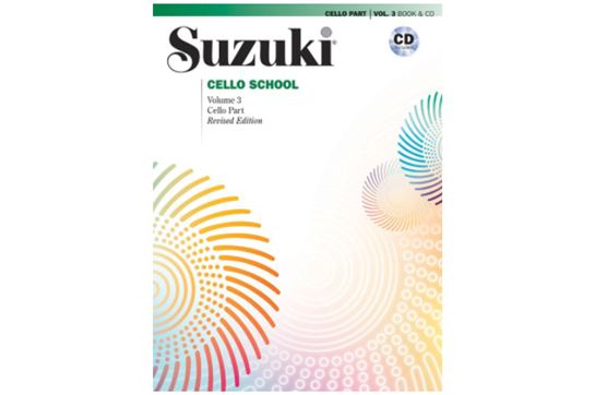 Suzuki Cello School, Cello Part & CD, Volume 3 (Revised)