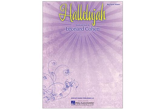 Hallelujah - Big Note Piano