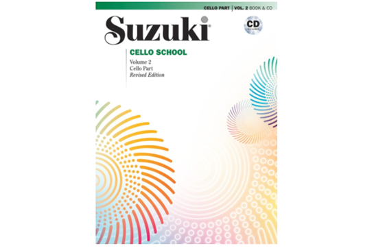 Suzuki Cello School, Cello Part & CD, Volume 2 (Revised)