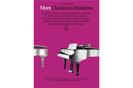More Classics to Moderns - Book 6