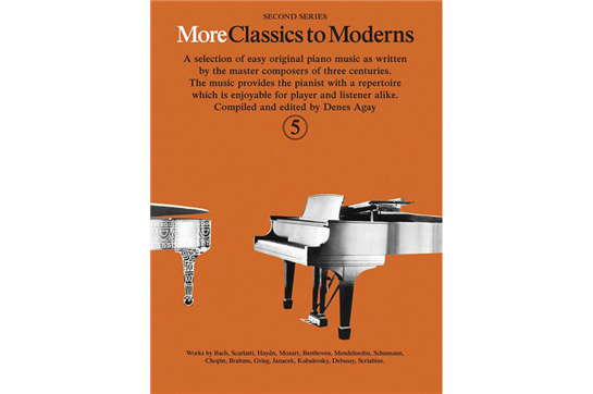 More Classics to Moderns - Book 5