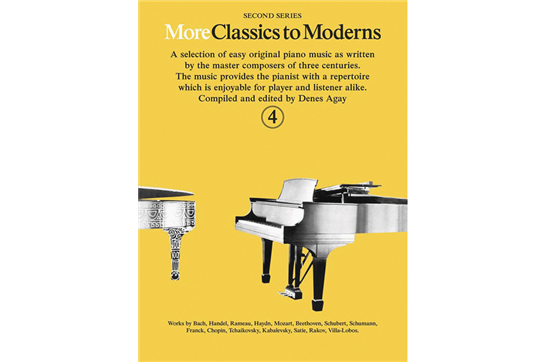 More Classics to Moderns - Book 4