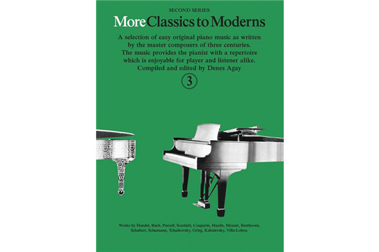 More Classics to Moderns - Book 3