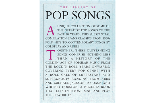 The Library of Pop Songs - PVG