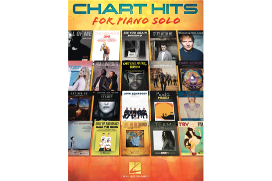 Chart Hits for Piano Solo