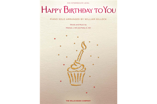 Happy Birthday to You - Piano Solo