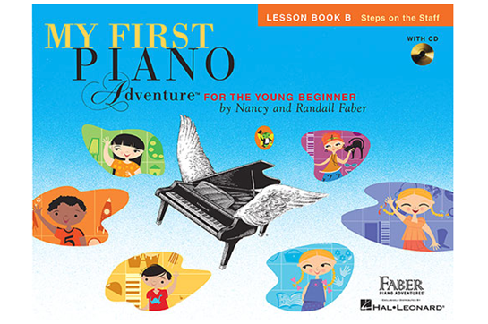My First Piano Adventure - Lesson Book B with CD
