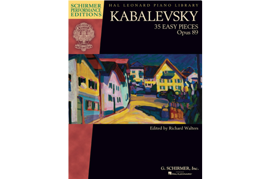 Kabalevsky - 35 Easy Pieces, Op. 89 for Piano