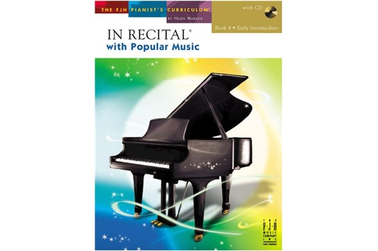 In Recital with Popular Music, Book 4