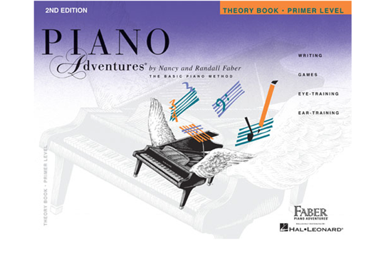 Piano Adventures Theory Book - Primer Level