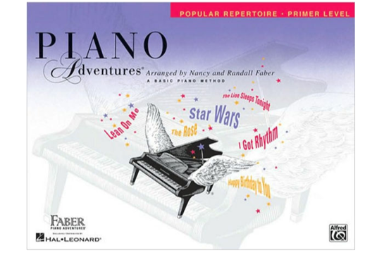 Piano Adventures Popular Repertoire Book - Primer Level