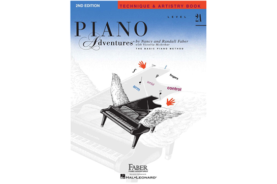 Piano Adventures Technique & Artistry Book - Level 2A
