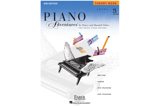 Piano Adventures Theory Book - Level 2A
