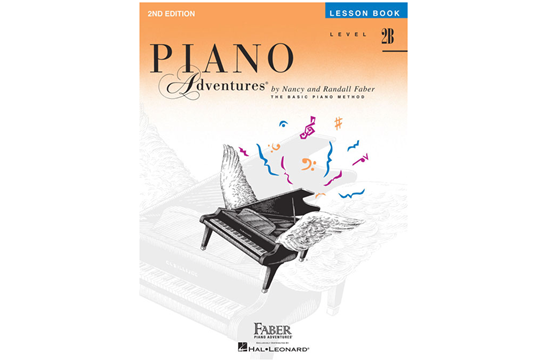 Piano Adventures Lesson Book - Level 2B