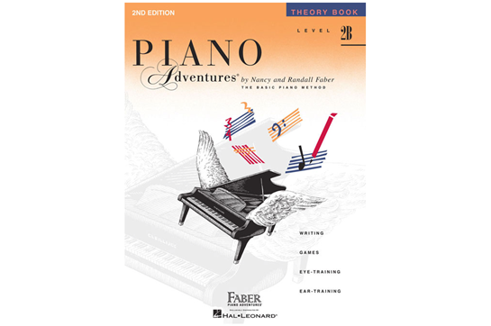 Piano Adventures Theory Book - Level 2B