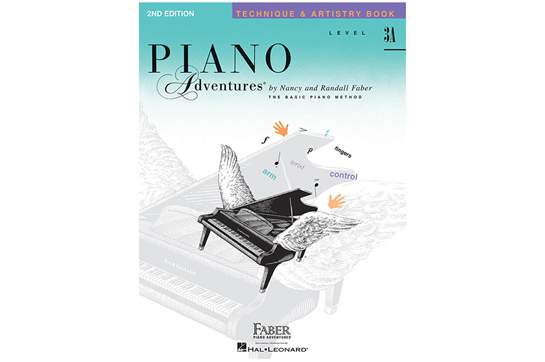 Piano Adventures Technique & Artistry Book - Level 3A