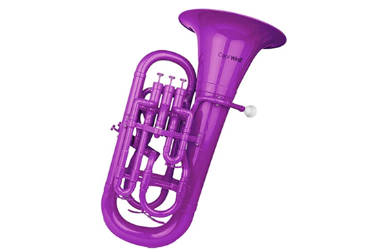 Cool Wind Plastic Euphonium (Purple)