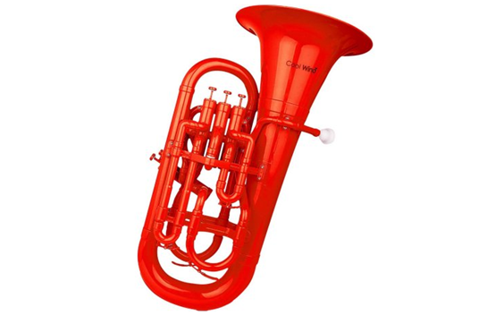 Cool Wind Plastic Euphonium (Red)