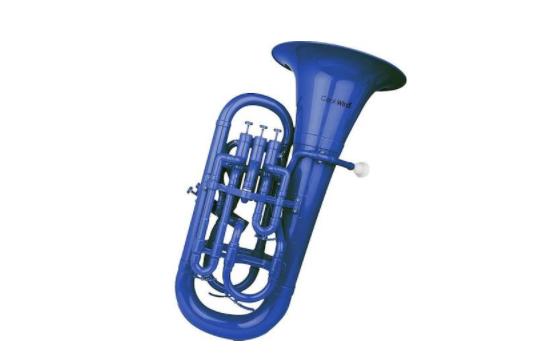 Cool Wind Plastic Euphonium (Blue)
