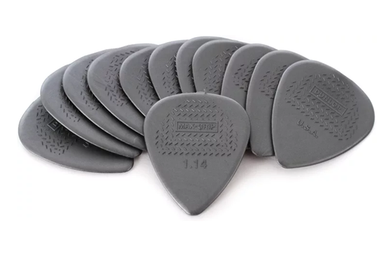 Dunlop Max Grip 1.14 Picks (12 Pack)