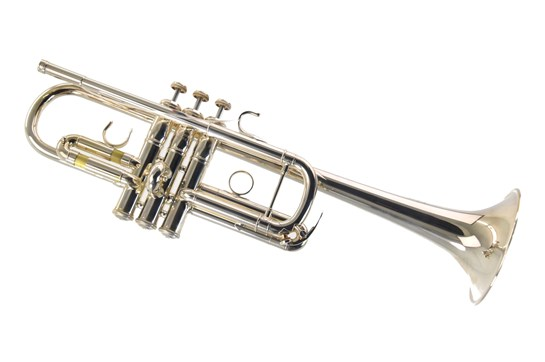 Used Yamaha YTR-9445NYSII New York Series C Trumpet - Silver