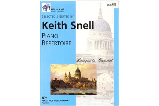 Piano Repertoire: Baroque/Classical, Level 2