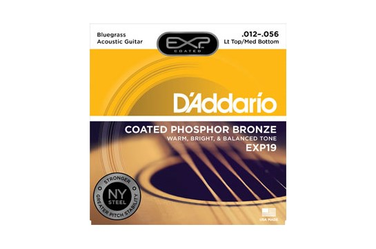 D'Addario EXP19 Light Top/Medium Bottom Acoustic Strings