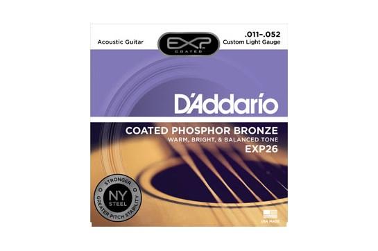 D'Addario EXP26 Custom Light Acoustic Strings