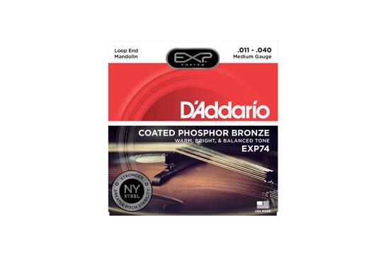 D'Addario EXP74 Medium Mandolin Strings