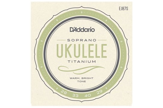 D'Addario EJ87S Heavy Soprano Ukulele Strings