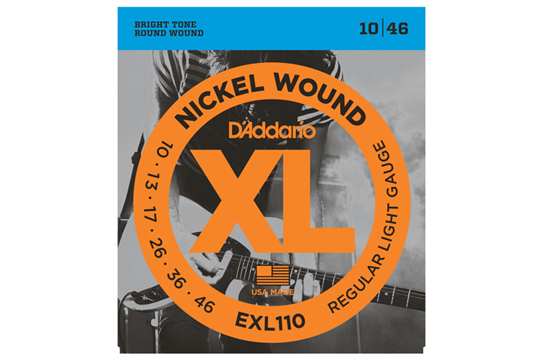 D'Addario EXL110 Regular Light Electric Strings .010-.046