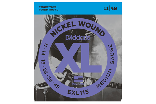 D'Addario EXL115 Medium Electric Strings