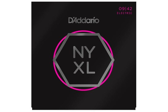 D'Addario NYXL0942 Nickel Wound Guitar Strings, Super Light, 09-42